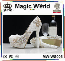 DESIGNER UNIQUE RHINESTONE SEXY HIGH HEEL WOMEN WEDDING BRIDAL SHOES
