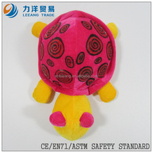Plush tortoise for kids-red, sea animals, Customised toys,CE/ASTM safety stardard