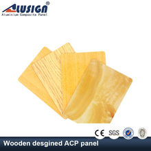 Alusign 12 years High strength Aluminum Composite Panel cork walls panels of china acp