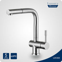 Modern Stainless Steel pull out kitchen faucets for North America