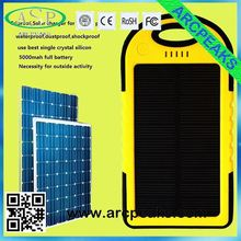 triproof waterproof outdoor portable mobile solar charger