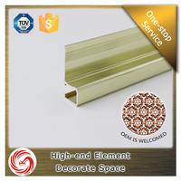 China Wall Corner Protection Aluminum Corner Guard/Aluminum Tile Trim Round Edge aluminum wall corner guard