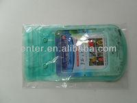water water proof smart phone bag with earphone