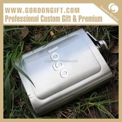 Custom Promotional HF-037 Own brand Hip Flask,2oz hip flask Guangzhou Factory