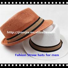 Guapo <span class=keywords><strong>sombreros</strong></span> panama, sombrero de paja <span class=keywords><strong>para</strong></span> los <span class=keywords><strong>hombres</strong></span>
