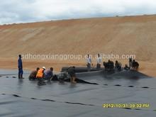 PVC goemembrane sheet / film used as landfill liner / swimming pool liner