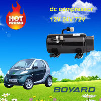 electric car motor kits R134A electric air compressor12v/24v/320v for air conditioner for small city-class vehicle