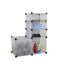 Environmental DIY Plastic Storage Cube ( YK - 7007 )