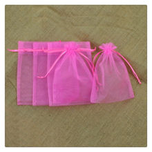Promotional Customized Logo Organza Bag,Small Wedding Gift Bags