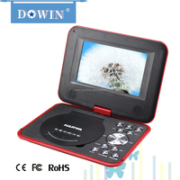 factory wholesale price quality usb tv sd radio Optional Portable DVD EVD Player with AC 100~240V TFT Screen Safer DVD Player