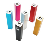 Z-205 Manufacturer Hot mobile 2600mah power bank external power tube for digital product