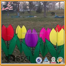 beautiful flower kite from weifang kite factory
