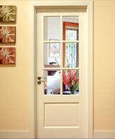 classic white french door glass insert design