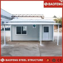 convenient to change good quality of slope roof prefab house