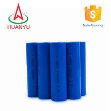 1x18650 lithium rechargeable battery 1250mah