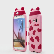 mobile phone accessory 3d phone case for samsung galaxy s6 case