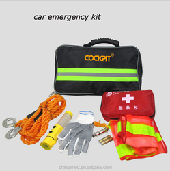 SH20143 car emergency kit roadside kit car first aid kit Wholesale auto emergency kit