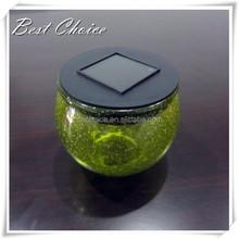 2015 Ningbo Promotional Solar Glass Jar light