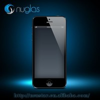 tempered glass screen protector for mobile phone, for iphone5S screen protector with clear