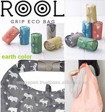 Eco cheap cute tote shopping bag and travel bag animal and dot type