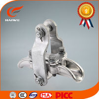 High quality aluminum alloy XGU suspension clamp trunnion type/clevis type/with socket tongue