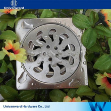 4 Inches quick flow stainless steel floor drain