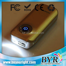 solar power bank high quality 3600mAH Dual Output power bank