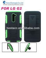 Hot!! Hybrid shield robot case for LG G2 phone cover
