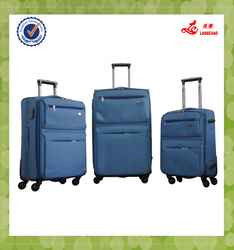 """Trolley set polyester 20""""24""""28"""" travel luggage rolling discount durable luggage"""