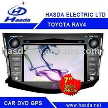 car dvd player for Toyota RAV4 DVD/GPS/BT/TV/ipod/steering wheel control