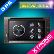 XTRONS 6.2 inch touch creen double din car dvd audio system with GPS navigation/bluetooth/radio/AUX/IPOD