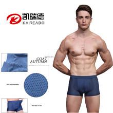 KAREADO 2015 Hot Sale Wholesale Free Sample Transparent Solid Color Underpants Sexy Men Boxer Briefs