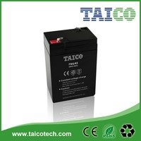 Taico smf battery 6v4.5ah search light battery