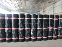 4mm SBS bituminous applied torch on waterproof membrane