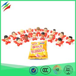 Dutch soccer team players cartoon character soft toy dwarf dolls