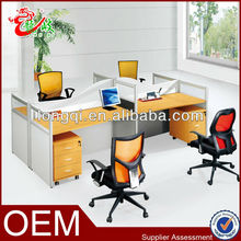 newest series hot sale good quality modern office staff desk workstation P34