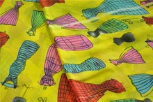 100% polyester chiffon printing fabric TC-009