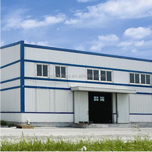 Guangzhou cheap price prefabricated two story steel structure warehouse
