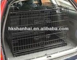 Indoor or Outdoor folding metal mesh dog cage