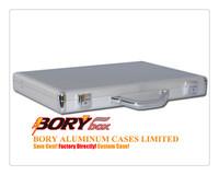 Super Slim Metal Aluminum Briefcase