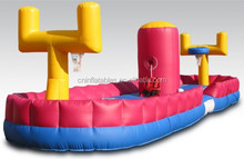 high quality inflatable bungee basketball for sale, inflatable basketball game, inflatable sports games
