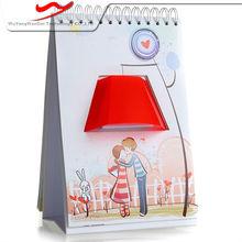 Page book light Innovative stylish digital advertising board
