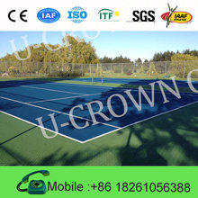 Long Service life synthetic badminton court flooring table tennis flooring
