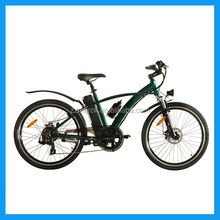 500w Lithium battery operated electric mountain bike