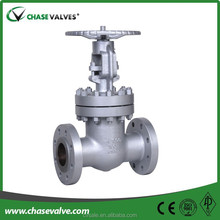 Customized plain gate valve,gate valve dimensions handles added