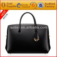 Elegant leather mature women handbags ladies handbags international brand