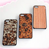 2014 New arrival China Novelty Eco-friendly Cork Texture Mobile Phone Cases Leather For iPhone 5s