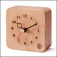 New design sun shaped wall clock for wholesales