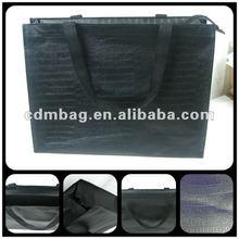 2012 black crocodile shopping bag