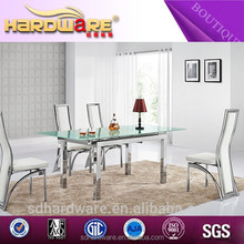 Good quality china factory design extension dining table